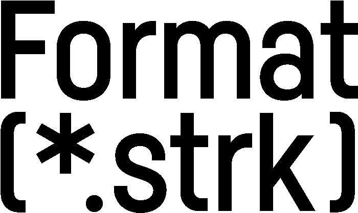 Format(*.strk)
